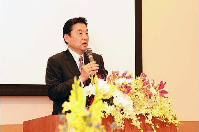東大阪市長 野田義和様 ご挨拶