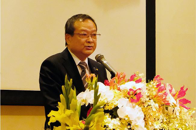 東大阪市議会 議長 西田和彦様 ご挨拶