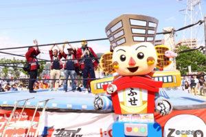 野崎プロレスさんのリングで布施プロレスを発表しました